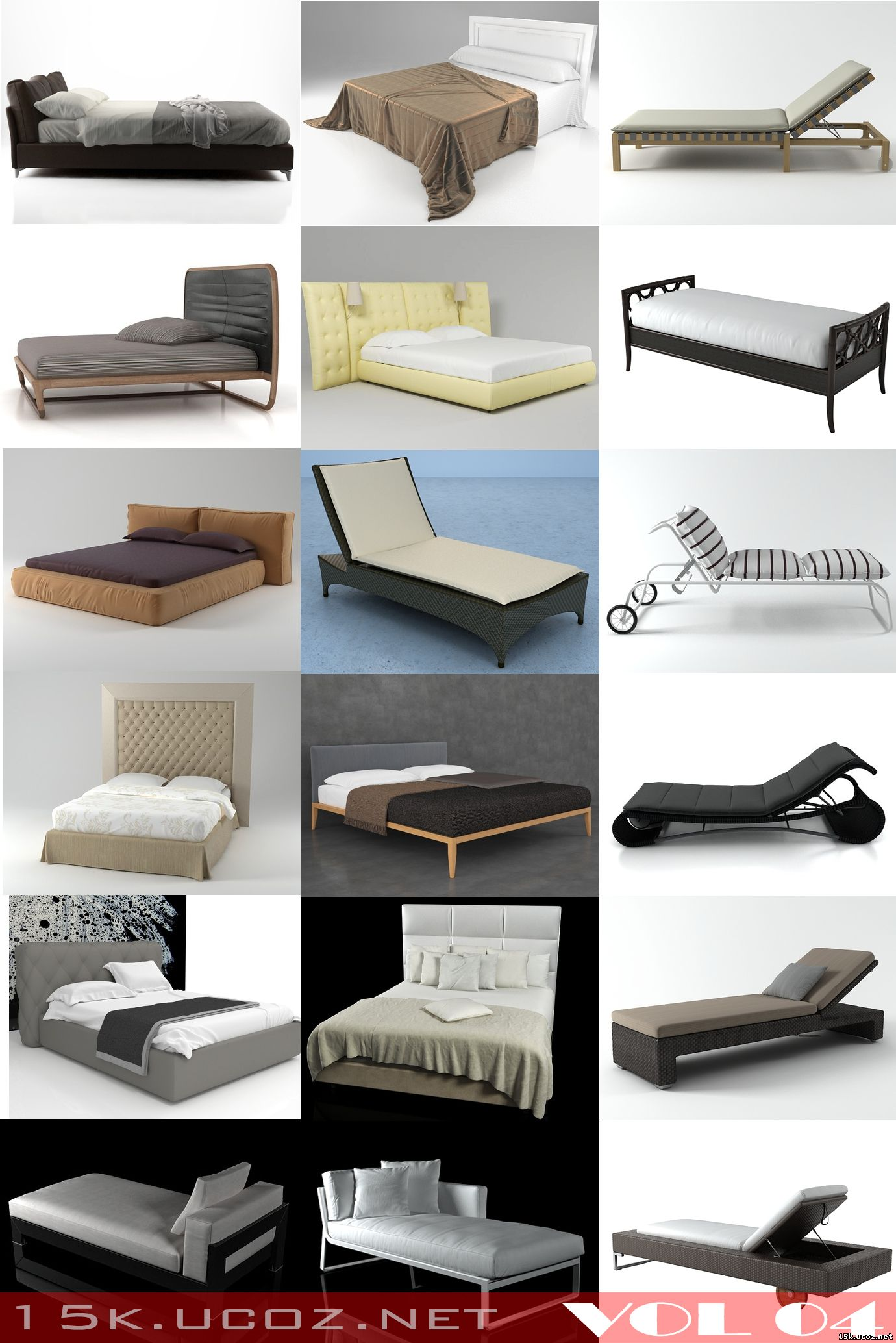 Modern design style bed model 3ds max beautiful bed 3ds for 3ds max bed model